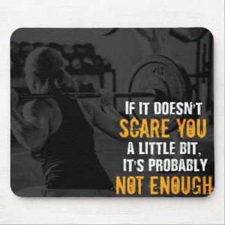 Motivational Bodybuilding Gym Mouse Pad