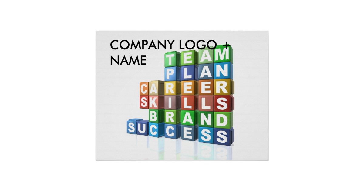 motivational business buzzwords poster zazzle interior design buzzwords to add to your vocabulary