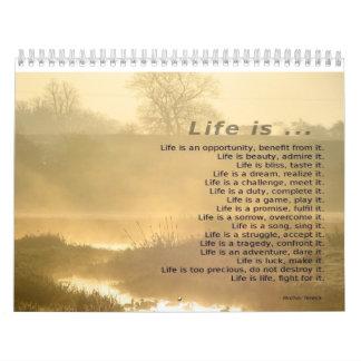 Motivational Calendar 2014