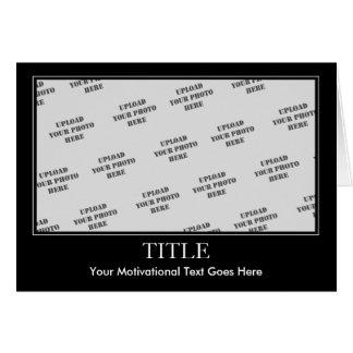 Motivational Card Template