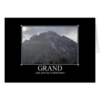 Motivational Cards: Grand Card