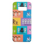 Motivational Characters Patchwork Pattern Case-Mate Samsung Galaxy S8 Case