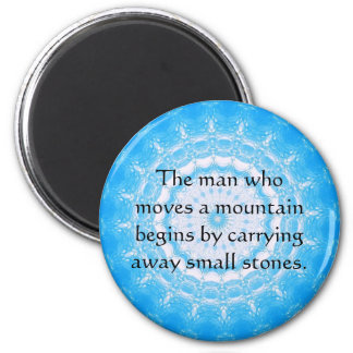 Motivational Chinese proverb 2 Inch Round Magnet