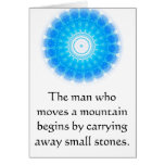 Motivational Chinese proverb Greeting Cards