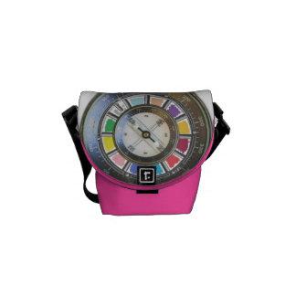Motivational Color wheel Messenger Bag