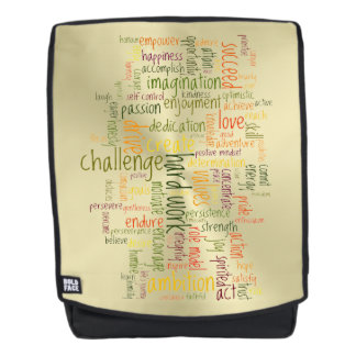 Motivational Confidence Booster, positivity Backpack