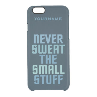 Motivational custom cases uncommon clearly™ deflector iPhone 6 case