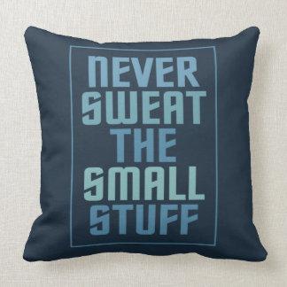 Motivational custom throw pillows