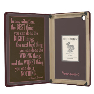 """Motivational """"Do Something"""" Quote cases iPad Mini Covers"""