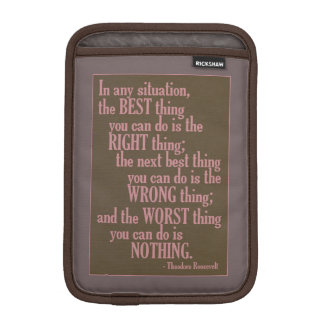 "Motivational ""Do Something"" Quote device sleeves iPad Mini Sleeves"