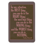 """Motivational """"Do Something"""" Quote magnet"""