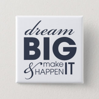 Motivational Dream Work Success Button