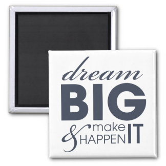 Motivational Dream Work Success Magnets