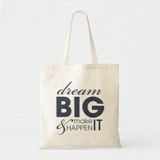 Motivational Dream Work Success Tote Bag
