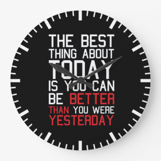 Motivational Fitness Gym Wall Clocks
