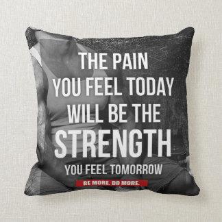 Motivational Fitness Gym Pillows