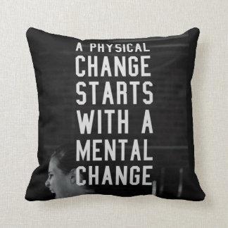 Motivational Fitness Gym Pillow
