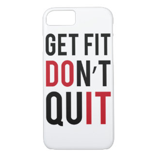 """Motivational """"Fitness"""" iPhone 7 CASE"""