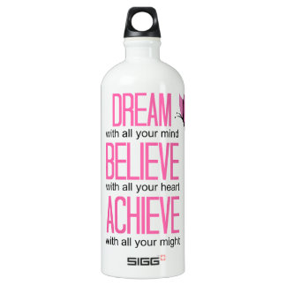 """Motivational"" Fitness Traveler WATER BOTTLE"
