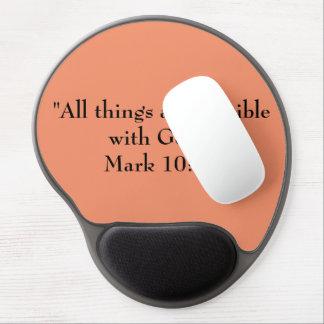 Motivational Gel Mouse Pad