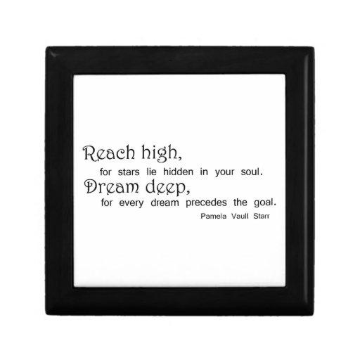 Motivational gift boxes gifts unique quote idea