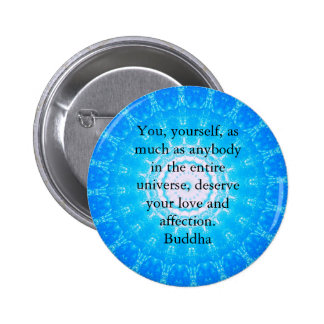Motivational Inspirational Buddha Quote Button