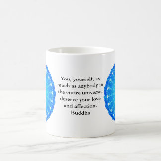 Motivational Inspirational Buddha Quote Coffee Mug