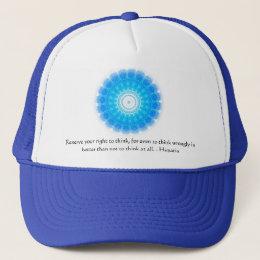 Motivational Inspirational Hypatia Quote Trucker Hat
