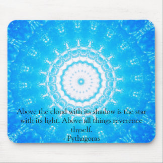 Motivational Inspirational Quote Mouse Pad