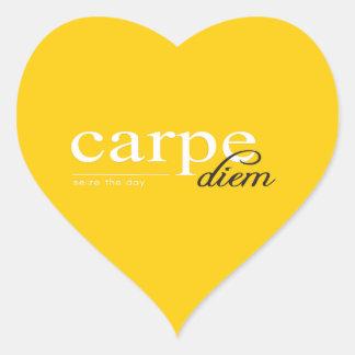 Motivational Inspirational Quote Heart Sticker
