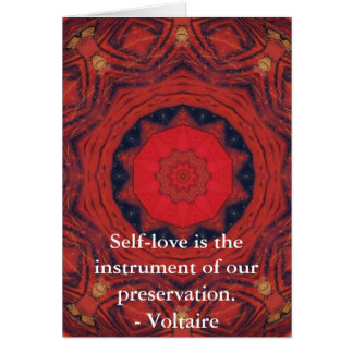 Motivational Inspirational Voltair QUOTE Card