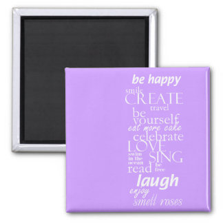 motivational inspirational words magnet