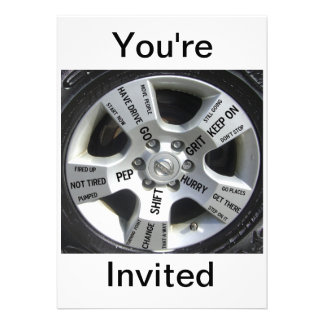 Motivational Invitations