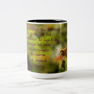 Motivational Irish Proverb coffee cup