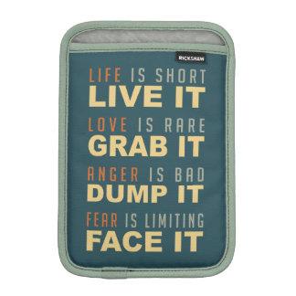 Motivational Life Advice sleeves