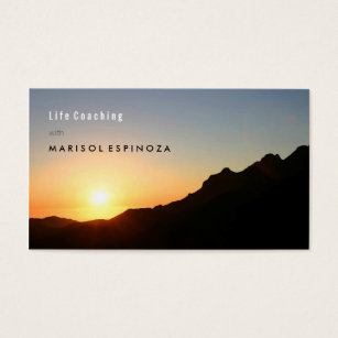 Motivational speaker business cards templates zazzle motivational life coach inspiration mountain climb business card colourmoves