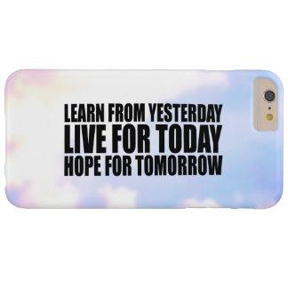 Motivational Life Quote Stylish iPhone 6 Plus Case