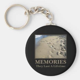 Motivational: Memories Last a Lifetime Basic Round Button Keychain