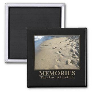 Motivational: Memories Last a Lifetime Magnet