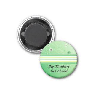 Motivational Message - Big Thinkers Magnet
