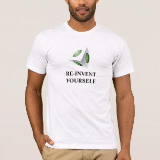 Motivational Message with 3D Design T-Shirt