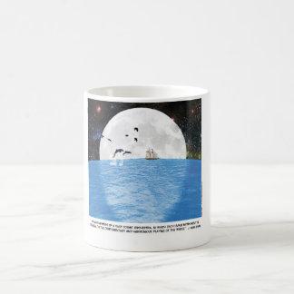 Motivational Moon Illustration Coffee Mug