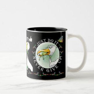 Motivational mug – Just Do It – Never Give UP
