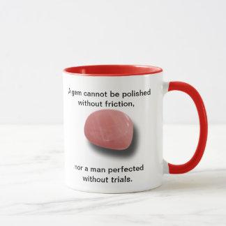Motivational Mug With Chinese Proverb - Hardship