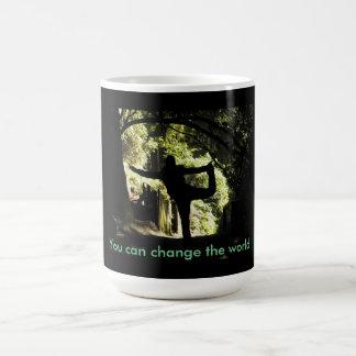 Motivational Mug -You can change the world