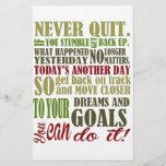 """Motivational: Never Quit<br><div class=""""desc"""">Motivational Never Quit</div>"""