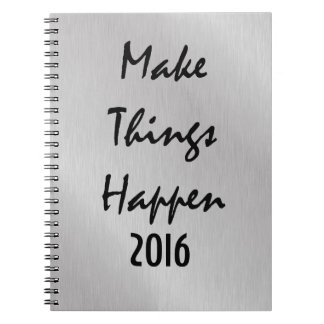 Motivational New Year Quote Note Books