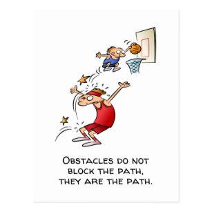 Funny Basketball Cartoon Postcards No Minimum Quantity Zazzle