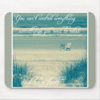 Motivational Ocean mouse pad