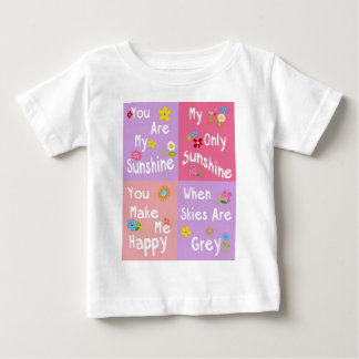 Motivational phrase typography - Collage Baby T-Shirt